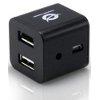 Hub Conceptronic - 4-ports cube usb 2.0 hub - black
