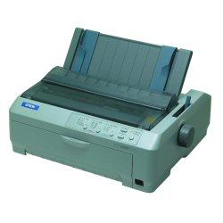 Imprimante Epson FX 890 - Imprimante - monochrome - matricielle - JIS B4, 254 mm (largeur) - 240 x 144 dpi - 9 pin - jusqu'à 680 car/sec - parallèle, USB