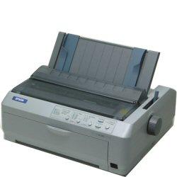 Imprimante Epson LQ 590 - Imprimante - monochrome - matricielle - 254 x 559 mm, JIS B4 - 24 pin - jusqu'à 529 car/sec - parallèle, USB