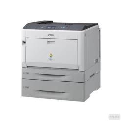 Imprimante laser Epson AcuLaser C9300TN - Imprimante - couleur - laser - A3/Ledger - 1200 ppp - jusqu'à 30 ppm (mono) / jusqu'à 30 ppm (couleur) - capacité : 955 feuilles - USB, Gigabit LAN
