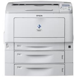 Imprimante laser Epson AcuLaser M7000DT2N - Imprimante - monochrome - Recto-verso - laser - A3/Ledger - 1200 ppp - jusqu'à 32 ppm - capacité : 1380 feuilles - USB, Gigabit LAN
