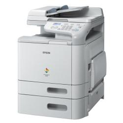 Imprimante laser multifonction Epson AcuLaser CX37DTN - Imprimante multifonctions - couleur - laser - 215.9 x 500 mm (original) - A4/Legal (support) - jusqu'� 20 ppm (copie) - jusqu'� 24 ppm (impression) - 850 feuilles - USB 2.0, Gigabit LAN, h�te USB