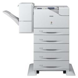 Imprimante laser Epson WorkForce AL-C500DXN - Imprimante - couleur - Recto-verso - laser - A4/Legal - jusqu'à 45 ppm (mono) / jusqu'à 45 ppm (couleur) - capacité : 2900 feuilles - USB, Gigabit LAN