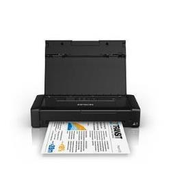 Imprimante à jet d'encre Epson WorkForce WF-100W - Imprimante - couleur - jet d'encre - A4/Legal - 5 760 x 1 440 ppp - jusqu'à 14 ppm (mono) / jusqu'à 11 ppm (couleur) - capacité : 20 feuilles - USB 2.0, Wi-Fi(n)