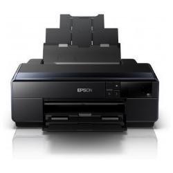 """Imprimante à jet d'encre Epson SureColor SC-P600 - 13"""" imprimante grand format - couleur - jet d'encre - A3/Ledger - 5 760 x 1 440 ppp - jusqu'à 6 ppm (mono) / jusqu'à 6 ppm (couleur) - capacité : 120 feuilles - USB 2.0, LAN, Wi-Fi(n)"""