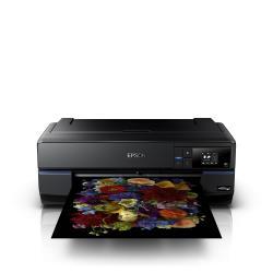 """Imprimante à jet d'encre Epson SureColor SC-P800 - 17"""" imprimante grand format - couleur - jet d'encre - Rouleau (43,2 cm) - 2 880 x 1 440 dpi - jusqu'à 3 ppm (mono) / jusqu'à 3 ppm (couleur) - capacité : 120 feuilles - USB 2.0, LAN, Wi-Fi(n)"""