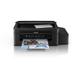 Imprimante  jet d'encre multifonction Epson EcoTank ET-2500 - Imprimante multifonctions - couleur - jet d'encre - A4/Legal (support) - jusqu'à 33 ppm (impression) - 100 feuilles - USB, Wi-Fi(n)