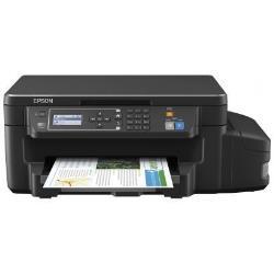 Imprimante  jet d'encre multifonction Epson EcoTank ET-3600 - Imprimante multifonctions - couleur - jet d'encre - A4/Legal (support) - jusqu'à 33 ppm (impression) - 150 feuilles - USB, Wi-Fi