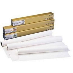Rouleau Epson Fine Art Hot Press Bright - Coton - mat lisse - blanc brillant - RouleauA1 (61,0cm x 15m) - 330 g/m² - 1 rouleau(x) papier chiffon - pour SureColor SC-P10000, P20000, P6000, P7000, P8000, P9000, T3000, T3200, T5200, T7000, T7200