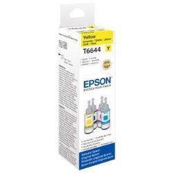 Epson T6644 - 70 ml - jaune - recharge d'encre - pour Epson L382, L386, L486; EcoTank ET-2600, 2650, L310, L375; Expression ET-2600, 2650