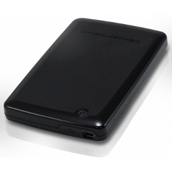 """Boîtier pour disque dur externe Conceptronic Hard Disk Box Mini - Boitier externe - 2.5"""" - SATA 3Gb/s - 300 Mo/s - USB 2.0"""