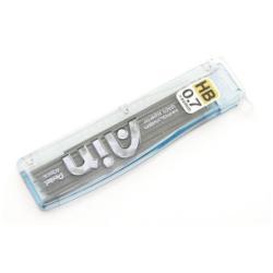Porte mines Pentel Ain - Mine de crayon - super hi-polymère - HB - noir - 0.7 mm - pack de 40 - pour .e-sharp; EnerGize; Sharp