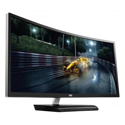 Écran LFD MONITOR 35  CURVO WIDE FULL HD (2560 X 1080)  A60 HZ  HDMI DISPLAY PORT FORMATO 21 9