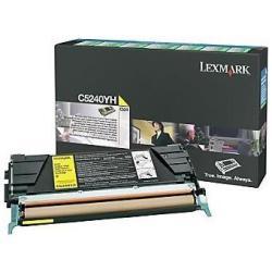Toner Lexmark - C5240yh
