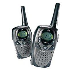 Emetteur-récepteur Midland G 6 - Portable - radio 2 bandes - PMR/LPD - 77 canaux - gris, noir (pack de 2)