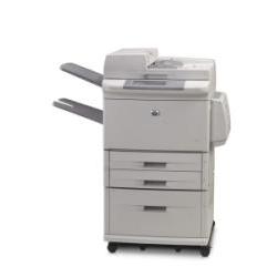 Imprimante laser multifonction HP LaserJet M9050 MFP - Imprimante multifonctions - Noir et blanc - laser - A3/Ledger (297 x 432 mm) (original) - A3/Ledger (support) - jusqu'à 50 ppm (copie) - jusqu'à 50 ppm (impression) - 3100 feuilles - USB 2.0, Gigabit LAN