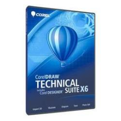 Software Corel - Coreldraw technical suite x6 ml