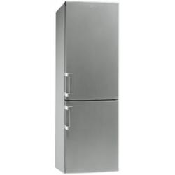 Réfrigérateur Smeg CF33SP - Réfrigérateur/congélateur - pose libre - largeur : 60 cm - profondeur : 60 cm - hauteur : 184.9 cm - 292 litres - congélat