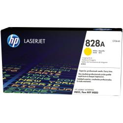 Toner HP 828A - 1 - jaune - kit tambour - pour LaserJet Enterprise Flow MFP M880; LaserJet Managed Flow MFP M880