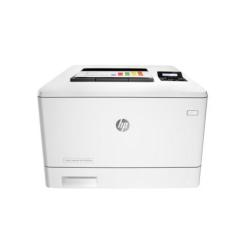 Imprimante laser HP Color LaserJet Pro M452nw - Imprimante - couleur - laser - A4/Legal - 38 400 x 600 ppp - jusqu'à 27 ppm (mono) / jusqu'à 27 ppm (couleur) - capacité : 300 feuilles - USB 2.0, Gigabit LAN, Wi-Fi(n), hôte USB