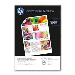 Papier HP Professional Glossy Paper - Papier photo - brillant - A4 (210 x 297 mm) - 150 g/m² - 150 feuille(s) - pour LaserJet Enterprise 600 M601; LaserJet Pro 400 M401, MFP M175, MFP M26, MFP M274, MFP M277