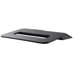 Support pour LCD Choiix Mini Air-Through - Support pour ordinateur portable - avec concentrateur USB 4 ports, ventilateur de refroidissement - 70 mm - noir