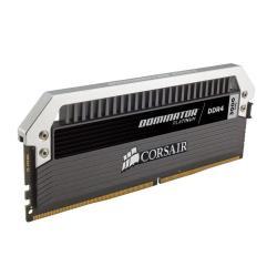 Barrette RAM Corsair Dominator Platinum - DDR4 - 16 Go : 4 x 4 Go - DIMM 288 broches - 3000 MHz / PC4-24000 - CL15 - 1.35 V - mémoire sans tampon - non ECC