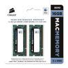 Barrette RAM Corsair - Corsair Mac Memory - DDR3 - 16...