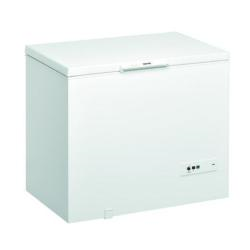 Congélateur Ignis CO250 EG - Congélateur - pose libre - largeur : 101 cm - profondeur : 69.8 cm - hauteur : 91.6 cm - 251 litres - congélateur coffre - classe A+ - blanc