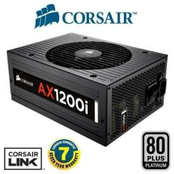 Alimentation PC Corsair AX1200i - Alimentation (interne) - ATX12V 2.31/ EPS12V 2.92 - 80 PLUS Platinum - CA 120-240 V - 1200 Watt - PFC active