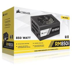 Alimentation PC Corsair RMi Series RM850i - Alimentation (interne) - ATX12V 2.4/ EPS12V 2.92 - 80 PLUS Gold - CA 100-240 V - 850 Watt - Europe