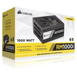 Alimentation PC Corsair RMi Series RM1000i - Alimentation (interne) - ATX12V 2.4/ EPS12V 2.92 - 80 PLUS Gold - CA 100-240 V - 1000 Watt - Europe