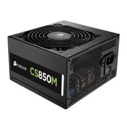 Alimentation PC Corsair CS Series CS850M - Alimentation ( interne ) - ATX12V 2.4/ EPS12V 2.92 - 80 PLUS Gold - CA 100-240 V - 850 Watt - PFC active - Europe