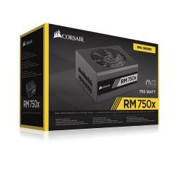Alimentation PC Corsair RMx Series RM750x - Alimentation (interne) - ATX12V 2.4/ EPS12V 2.92 - 80 PLUS Gold - CA 100-240 V - 750 Watt - Europe