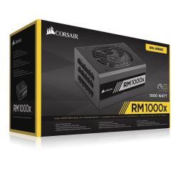 Alimentation PC Corsair RMx Series RM1000x - Alimentation (interne) - ATX12V 2.4/ EPS12V 2.92 - 80 PLUS Gold - CA 100-240 V - 1000 Watt - Europe