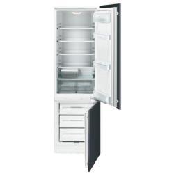 Réfrigérateur intégrable Smeg CR330AP - Réfrigérateur/congélateur - intégrable - niche - largeur : 56 cm - profondeur : 56 cm - hauteur : 185.6 cm - 288 litres - congélateur bas - classe A+