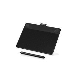 Tablette graphique Wacom Intuos Art Small - Numériseur - 15.2 x 9.5 cm - multitactile - électromagnétique - 4 boutons - filaire - USB - noir