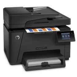 Imprimante laser multifonction HP LaserJet Pro MFP M177fw - Imprimante multifonctions - couleur - laser - Legal (216 x 356 mm) (original) - A4/Legal (support) - jusqu'à 16 ppm (copie) - jusqu'à 17 ppm (impression) - 150 feuilles - 33.6 Kbits/s - USB 2.0, LAN, Wi-Fi(n)