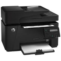 Imprimante laser multifonction HP LaserJet Pro MFP M127fn - Imprimante multifonctions - Noir et blanc - laser - Legal (216 x 356 mm) (original) - A4/Legal (support) - jusqu'à 21 ppm (copie) - jusqu'à 21 ppm (impression) - 150 feuilles - 33.6 Kbits/s - USB 2.0, LAN