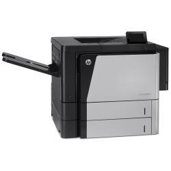 Imprimante laser HP LaserJet Enterprise M806dn - Imprimante - monochrome - Recto-verso - laser - A3 - 1200 x 1200 ppp - jusqu'à 56 ppm - capacité : 1100 feuilles - USB 2.0, Gigabit LAN, hôte USB