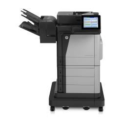 Imprimante laser multifonction HP Color LaserJet Enterprise Flow M680z - Imprimante multifonctions - couleur - laser - Legal (216 x 356 mm) (original) - A4/Legal (support) - jusqu'à 42 ppm (copie) - jusqu'à 43 ppm (impression) - 3100 feuilles - 33.6 Kbits/s - USB 2.0, Gigabit LAN, hôte USB