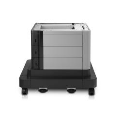 HP Paper Feeder and Stand - Base d'imprimante avec tiroir d'alimentation pour support d'impression - 2500 feuilles dans 3 bac(s) - pour LaserJet Enterprise MFP M680; LaserJet Enterprise Flow MFP M680; LaserJet Managed MFP M680