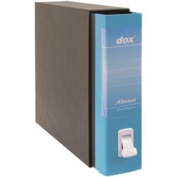 Boîte à archive Rexel Dox 2 - Classeur à levier - 80 mm - Legal - bleu capri