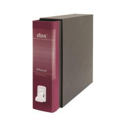 Boîte à archive Rexel Dox 2 - Classeur à levier - 80 mm - Foolscap - bordeaux