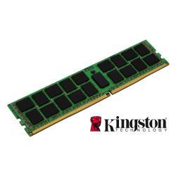 Barrette RAM Kingston - DDR4 - 16 Go - DIMM 288 broches - 2133 MHz / PC4-17000 - CL15 - 1.2 V - mémoire enregistré - ECC - pour Fujitsu PRIMERGY RX2540 M1
