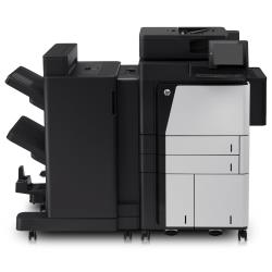 Imprimante laser multifonction HP LaserJet Enterprise Flow MFP M830z NFC/Wireless direct - Imprimante multifonctions - Noir et blanc - laser - A3/Ledger (297 x 432 mm) (original) - A3 (support) - jusqu'à 55 ppm (impression) - 4600 feuilles - 33.6 Kbits/s - USB 2.0, Gigabit LAN, hôte USB, hôte USB (interne), NFC