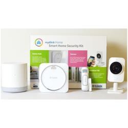 mydlink Home Smart Home Security Kit - Système de sécurité pour la maison - sans fil - Wi-Fi, Z-Wave