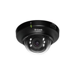 Caméscope pour vidéo surveillance D-Link mydlink-enabled DCS-6004L - Caméra de surveillance réseau - dôme - couleur (Jour et nuit) - 1280 x 800 - Focale fixe - audio - LAN 10/100 - MPEG-4, MJPEG, H.264