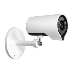 Caméscope pour vidéo surveillance D-Link DCS 7000L Wireless AC Day/Night HD Mini Bullet Cloud Camera - Caméra de surveillance réseau - couleur (Jour et nuit) - 1280 x 720 - Focale fixe - audio - sans fil - Wi-Fi - LAN 10/100 - MJPEG, H.264 - CA 120/230 V - CC 5 V
