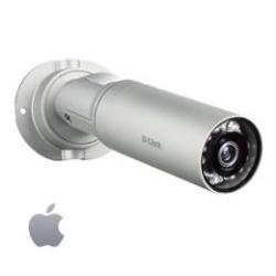 Caméscope pour vidéo surveillance D-Link DCS 7010L HD Mini Bullet Outdoor Network Camera - Caméra de surveillance réseau - extérieur - couleur (Jour et nuit) - 1280 x 720 - iris fixe - audio - LAN 10/100 - MPEG-4, MJPEG, H.264 - CA 120/230 V - CC 5 V / PoE
